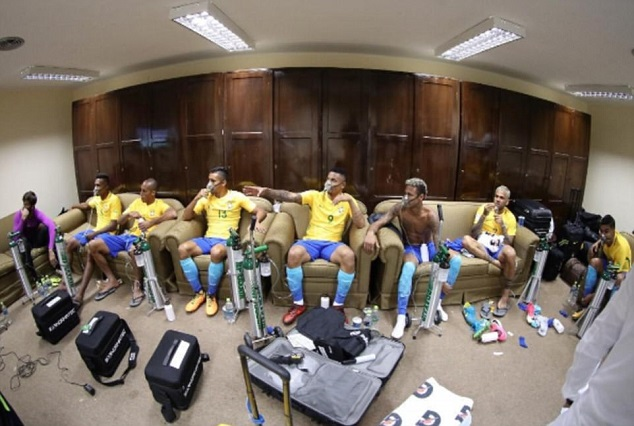 Short Of Breath: Brazilian Stars Use 'Oxygen Mask' After Tiresome Goalless Draw 3