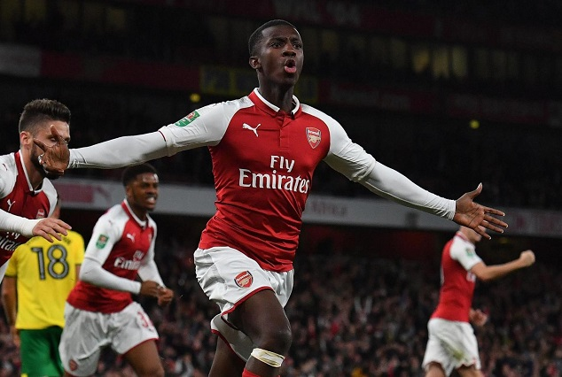 Edward Nketiah, First Player Born After Wenger's Arrival To Save Arsenal 5