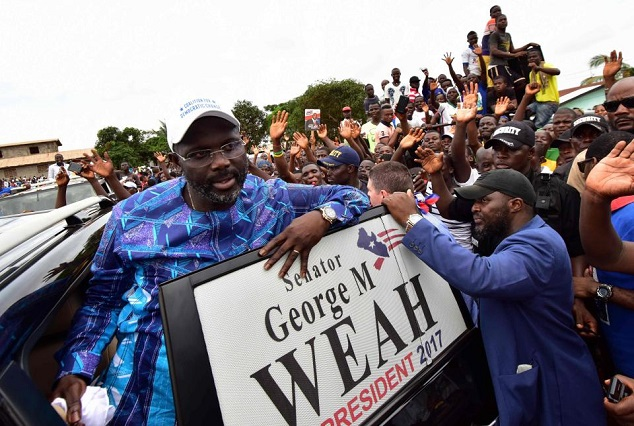 Liberia Election ! Former 'Ballon D'Or Winner' George Weah Wins Liberia Presidential Election 7