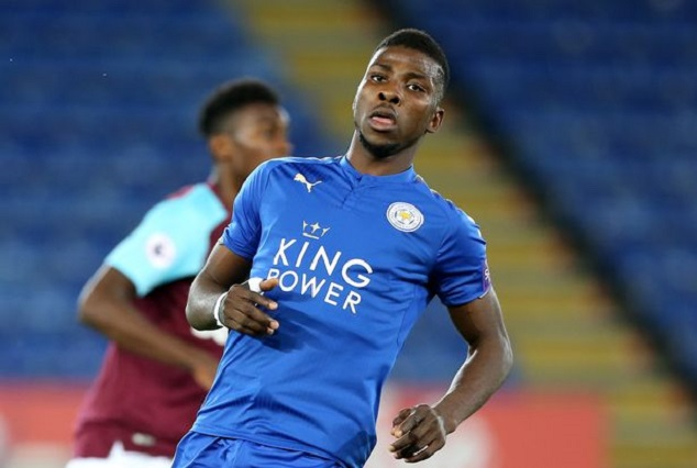Leicester City Celebrate Kelechi Iheanacho At 21 1