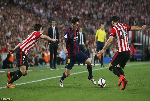 Science Explains Lionel Messi Architectural Stunner In Copa Del Rey Final 1
