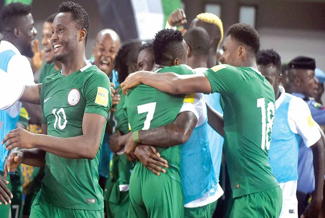 Breaking : Nigeria Seal 2018 World Cup Ticket After A Hard-Fought Win Over Zambia 1