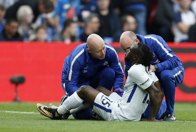Chelsea Injury Troubles Deepens As Victor Moses Set To Miss Champions League Clash 1