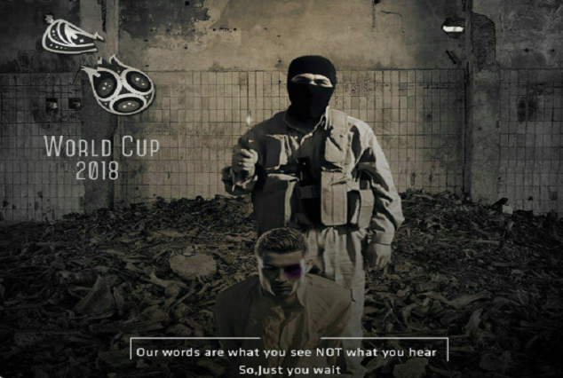 ISIS Release Another Threatening Image Of Cristiano Ronaldo 3