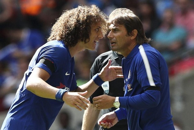 No Automatic Spot For You, Fight For It - Conte Warns Axed David Luiz 1
