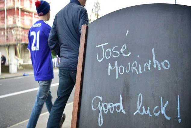 Chelsea Fans Love And Respect Me Still -Jose Mourinho 1