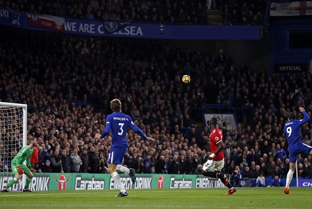 Morata Awesome Header End Chelsea's Tough Week With Dominant Win Over Hapless United 3