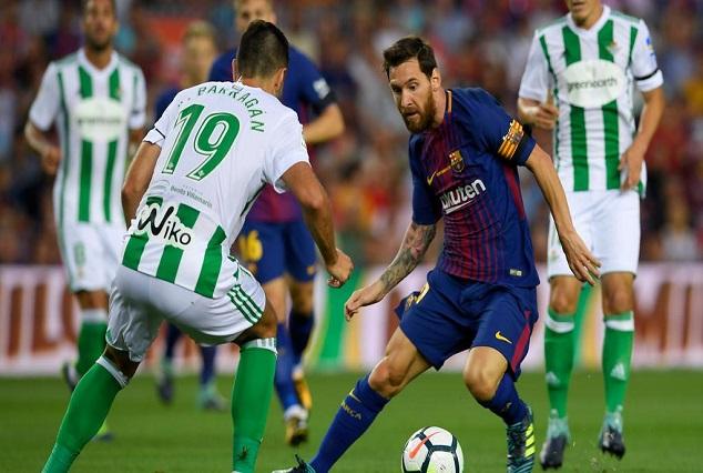 "Barcelona Star ""Lionel Messi"" Is The Best Dribbler In La Liga 1"