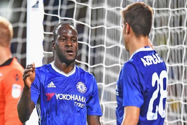 Cesar Azpilicueta Influenced My Development At Chelsea - Moses 1