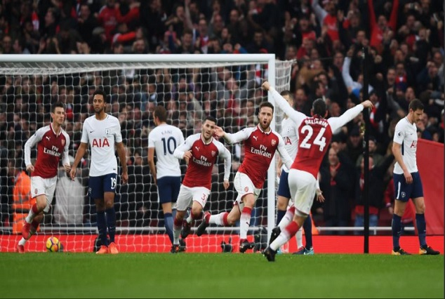 North London Is Red ! Arsenal Sink Tottenham In Electrifying Derby 1