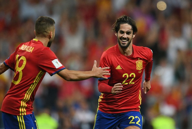 Jordi Alba: I Don't Like Seeing Isco Playing At Such A High Level 1