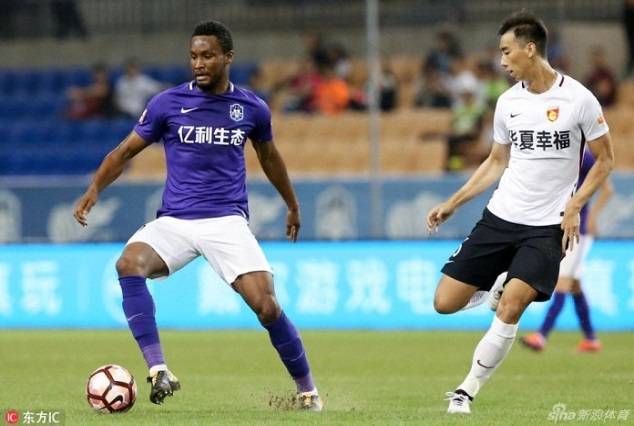 Mikel Obi Clears Air On Tianjin Teda Exit Speculation 1