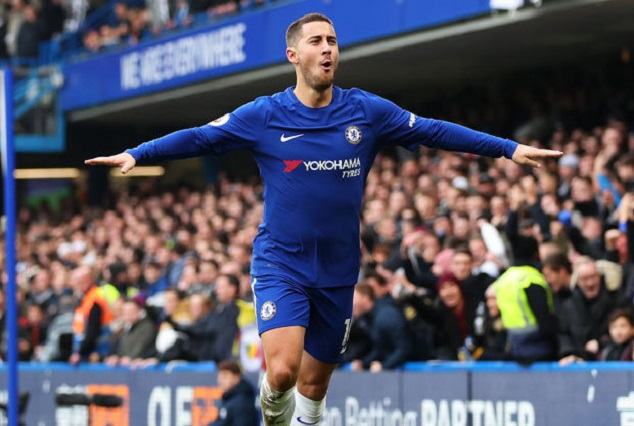 """""""It's Not A Problem, We Are Chelsea! Bring On PSG Or Barcelona -Hazard 1"""