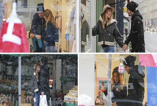 Alvaro Morata And Pregnant Wife Alice Campello Goes Shopping In London 9