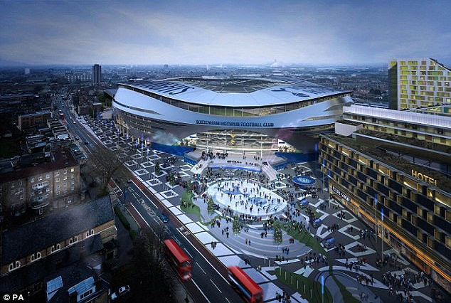 Spurs' £800m New Stadium Will Be The Most Expensive Football Ground In Europe Once Completed 11