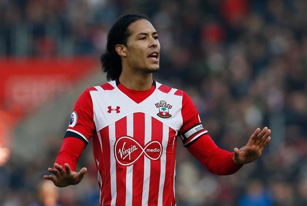 Breaking ! Liverpool Confirms £75m Deal With Southampton's Van Dijk 1