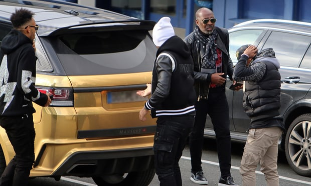 Aubameyang Jets In To London Colney Ahead Of Arsenal Move 1