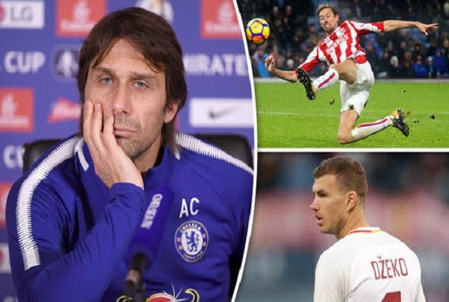 Antonio Conte Back Chelsea's Transfer Policy Amid Surprise Dzeko, Crouch & Carroll Links 1