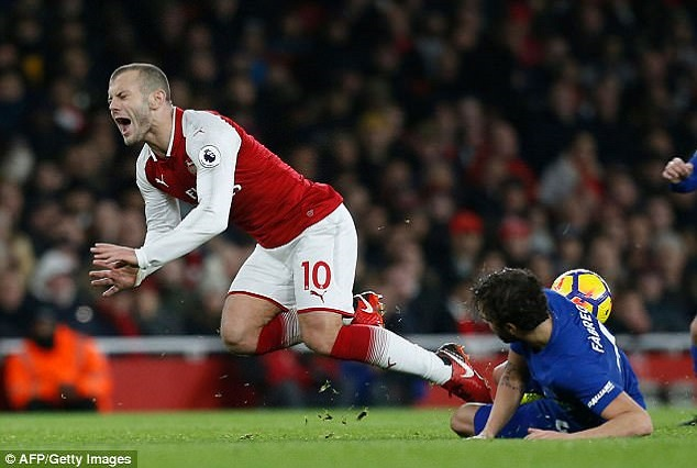Jack Wilshere Is The Most Fouled Player In Premier League 3