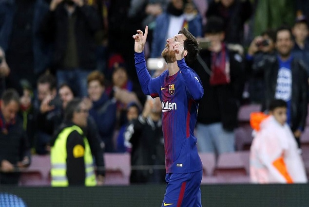 Lionel Messi Equals Muller Record With 365 LaLiga Goals 1