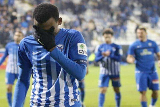 Shehu Abdullahi In Tear As He Bids Farewell To Anorthosis Famagusta 1