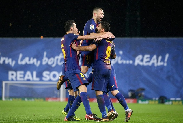 Barcelona Showed Their More Resilient Aspect As They Extinguish Anoeta Ghosts 7