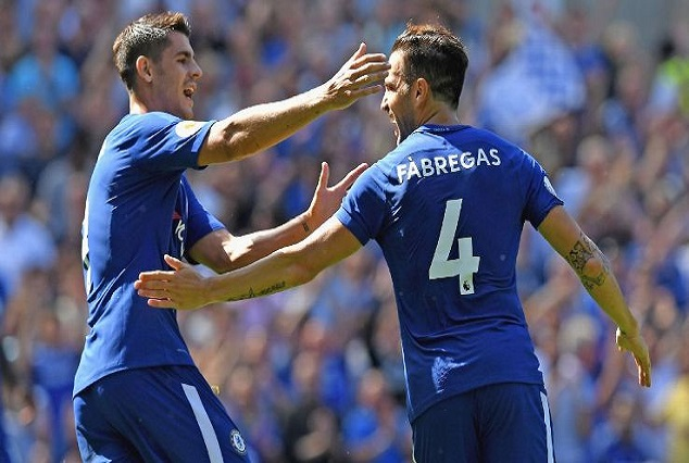 Fabregas And Morata Ruled Out Of Arsenal's EFL Cup Tie 1