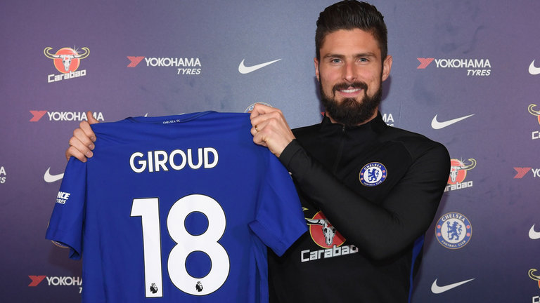 Official: Chelsea Secure Arsenal Forward Oliver Giroud 1