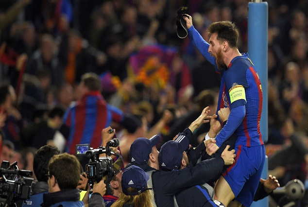 Lionel Messi Conquer Camp Nou's 61 Year History In Just 13 1