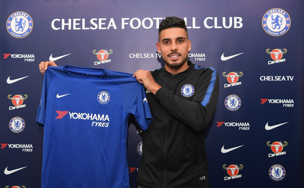 Official: Chelsea Complete The Signing Of AS Roma Left-Back Emerson 1