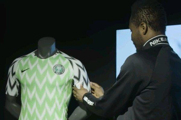 Mikel, Ndidi, Iwobi & Iheanacho React To Super Eagles New Kit 1