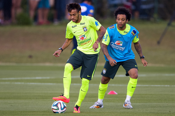 Neymar Will Surely Play For Real Madrid One Day - Marcelo 1