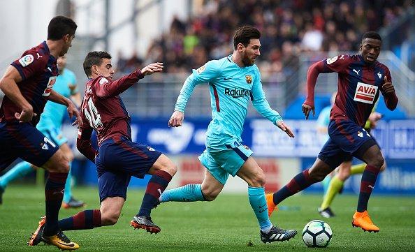 Record Breaker : Lionel Messi Posts Unwanted LaLiga Record 1