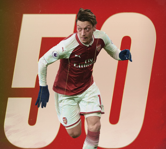King Of Assist ! Mesut Ozil Breaks Another Assist Record 1