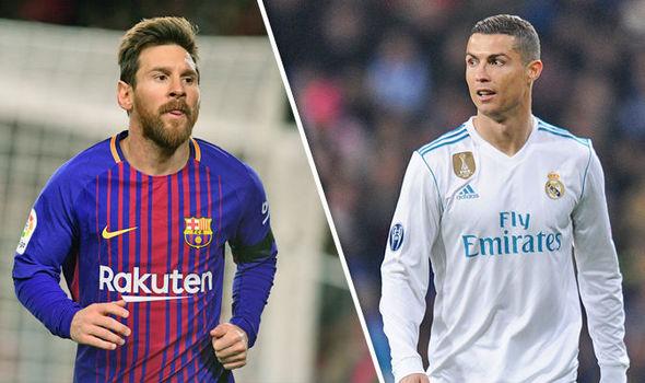 The Battle Continues : Lionel Messi 23 , Cristiano Ronaldo 15 5