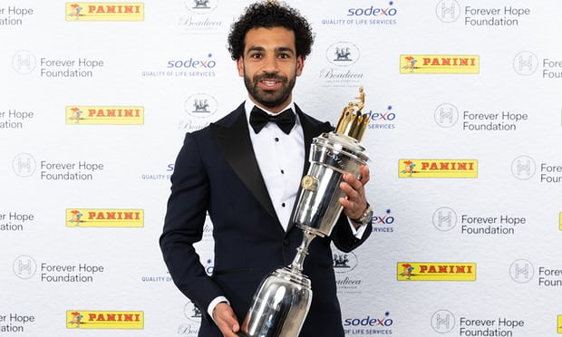 Mo-Salah Beats De Bruyne To Scoop PFA Player Of The Year Award 1