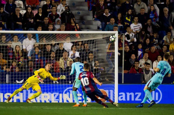 Five-Star Levante End Barca's 400 Days Winning Streak In LaLiga 1