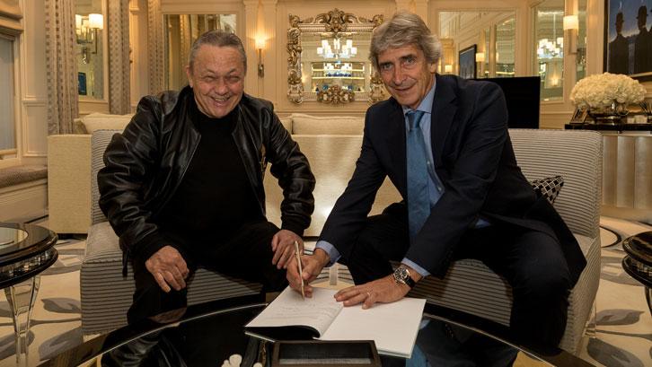 Official : Manuel Pellegrini Named New Hammers Boss 1