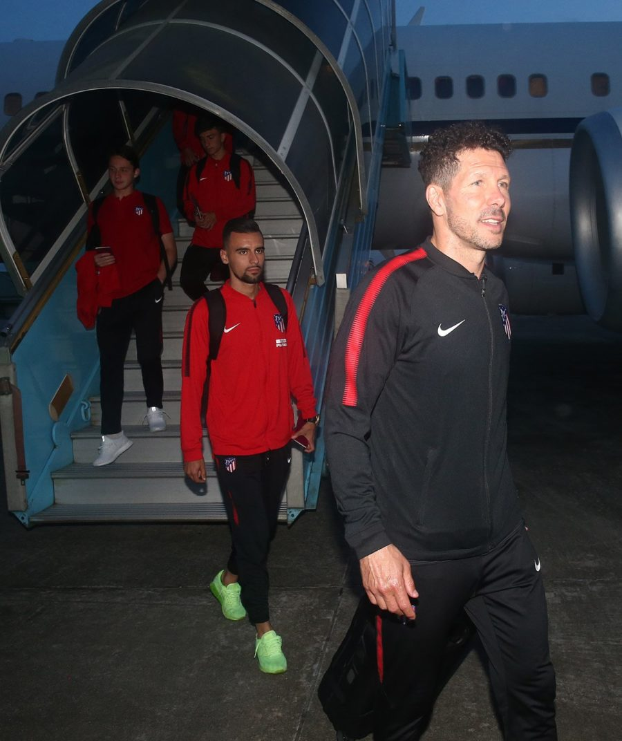 Atlético Madrid Arrive Uyo For Super Eagles Friendly Clash 15
