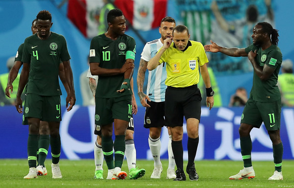 World Cup 2018 : Why The Ref Overruled Nigeria Penalty Appeal - Mikel 1