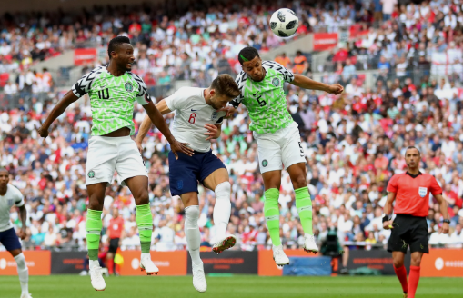 Twitter Reacts As Victor Moses Dribble Brought Harry Kane To The Ground 1