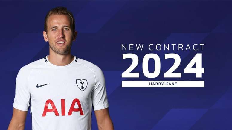 Tottenham Smash Wage Structure As Harry Kane Signs £90m Six-Yeal Deal 1
