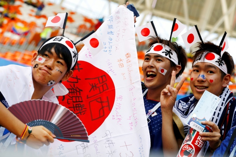 World Cup 2018: Japans Fans Winning Hearts In Russia 5