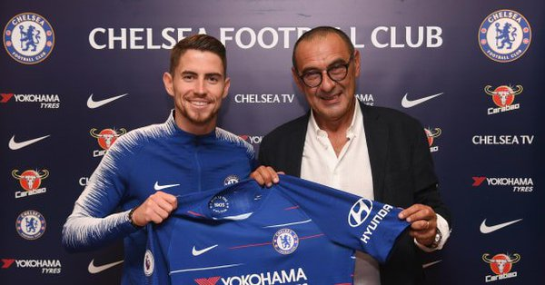 Official: Chelsea Secure The Service Of Jorginho Hours After Sarri's Appointment 1