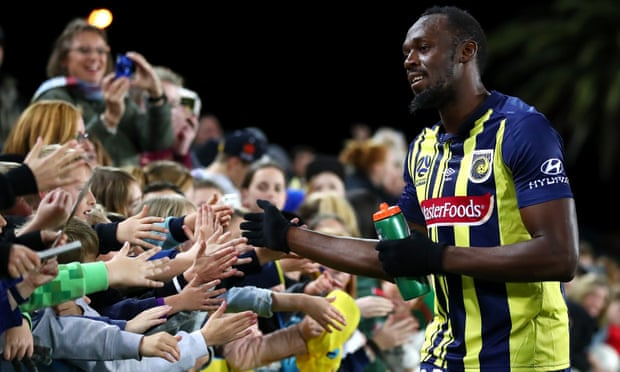 Usain Bolt Ignores Critics After Debut With Central Coast Mariners 1
