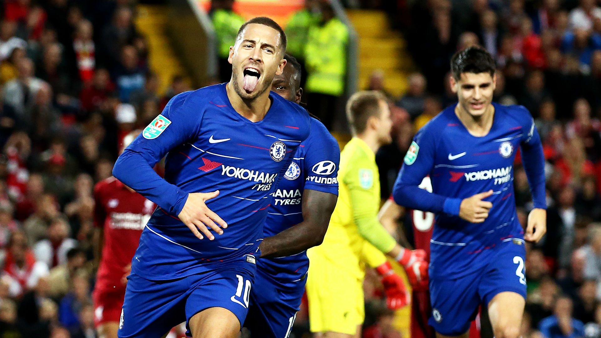 "I Don't Care About Messi & Ronaldo Comparison : ""I Want To Win Trophies"" - Hazard 1"