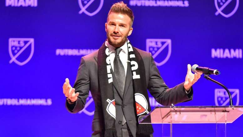 Official : David Beckham Unveils Name And Crest For His MLS Franchise 1