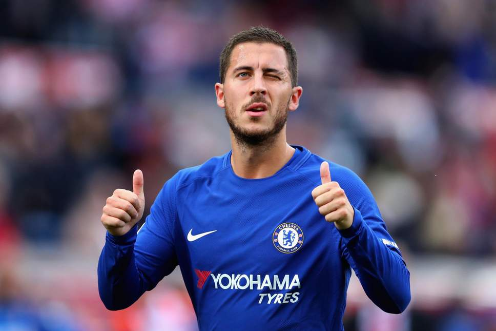 Chelsea Playmaker Eden Hazard Claims Premier League Player Of The Month Award 1