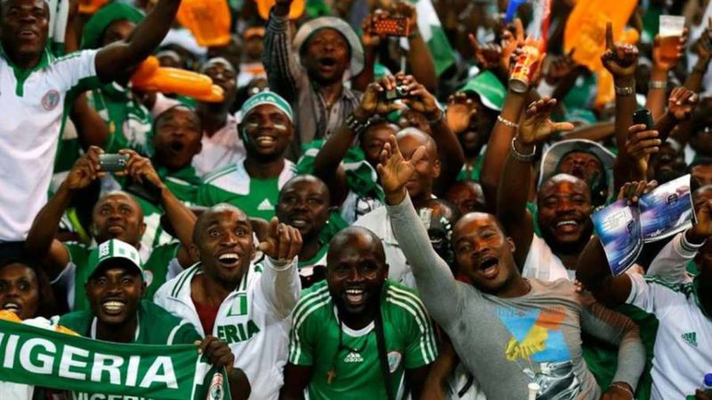 Show Of Shame : Super Eagle's Supporters Fight Over Chartered Flight To Tunisia 1