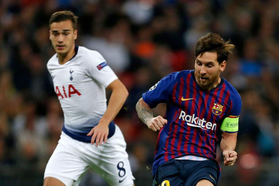 'He Has Completed Football' : Harry Winks Heaps Praise On Lionel Messi 1